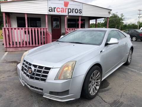 2013 Cadillac CTS for sale at Arkansas Car Pros in Cabot AR