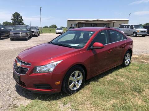 2014 Chevrolet Cruze for sale at COUNTRY AUTO SALES in Hempstead TX