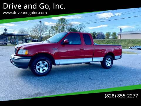 2001 Ford F-150 for sale at Drive and Go, Inc. in Hickory NC