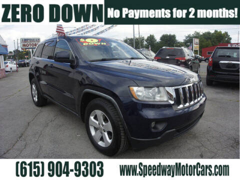 2012 Jeep Grand Cherokee for sale at Speedway Motors in Murfreesboro TN