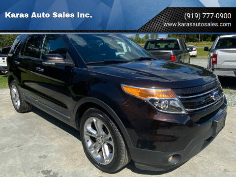 2013 Ford Explorer for sale at Karas Auto Sales Inc. in Sanford NC