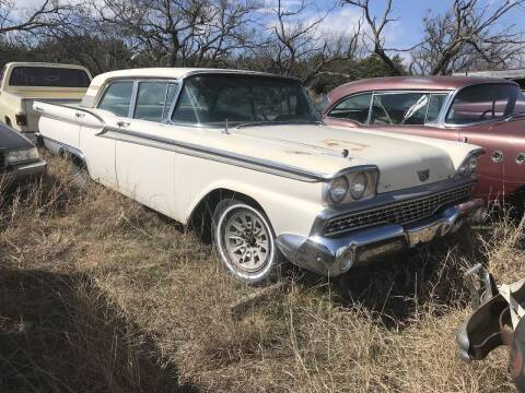 1959 Ford Galaxie 500 for sale at CLASSIC MOTOR SPORTS in Winters TX