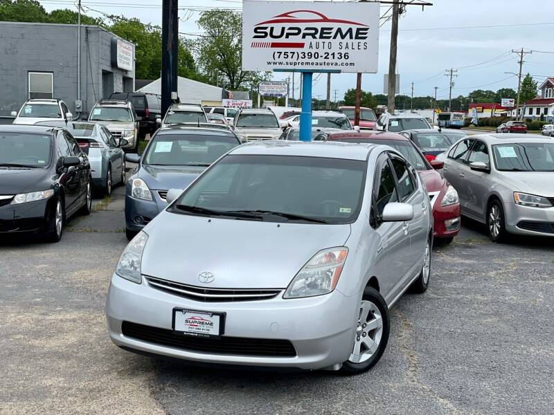 2008 Toyota Prius for sale at Supreme Auto Sales in Chesapeake VA
