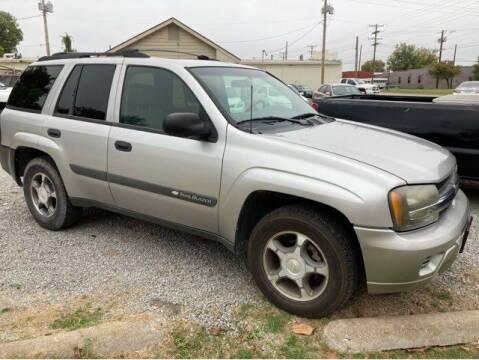 2004 Chevrolet TrailBlazer for sale at Sunshine Motors in Bartlesville OK