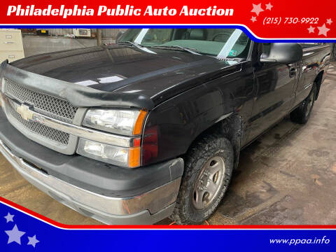 2003 Chevrolet Silverado 1500 for sale at Philadelphia Public Auto Auction in Philadelphia PA