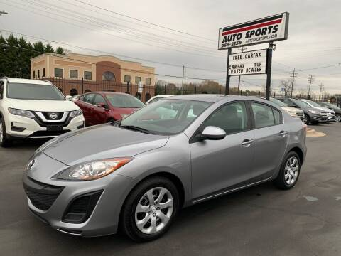 2010 Mazda MAZDA3 for sale at Auto Sports in Hickory NC