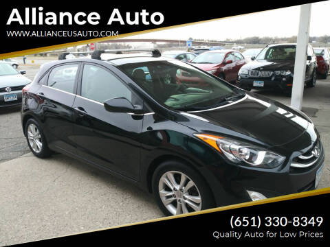 2013 Hyundai Elantra GT for sale at Alliance Auto in Newport MN