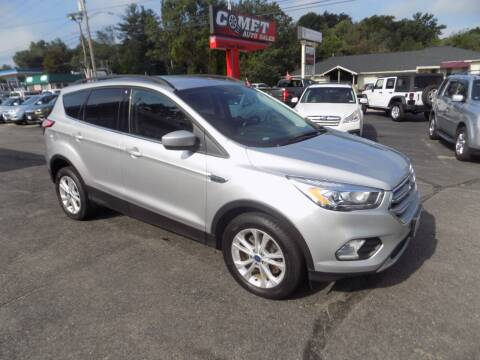 2017 Ford Escape for sale at Comet Auto Sales in Manchester NH