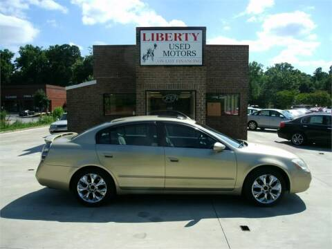 2002 Nissan Altima for sale at Liberty Used Motors in Selma NC