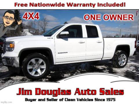 2015 GMC Sierra 1500 for sale at Jim Douglas Auto Sales in Pontiac MI
