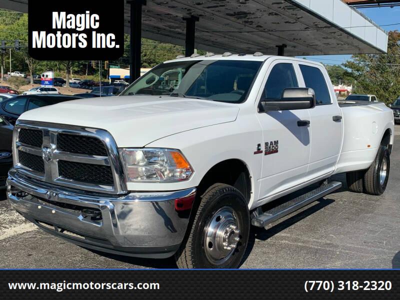 2017 RAM Ram Pickup 3500 for sale at Magic Motors Inc. in Snellville GA