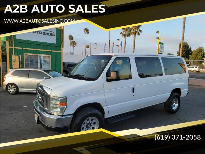 2009 Ford E-Series Wagon for sale at A2B AUTO SALES in Chula Vista CA