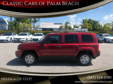 2016 Jeep Patriot for sale at Classic Cars of Palm Beach in Jupiter FL