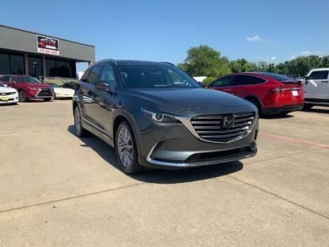 2021 Mazda CX-9 for sale at KIAN MOTORS INC in Plano TX