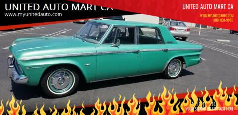 1964 stude studebaker for sale at UNITED AUTO MART CA in Arleta CA