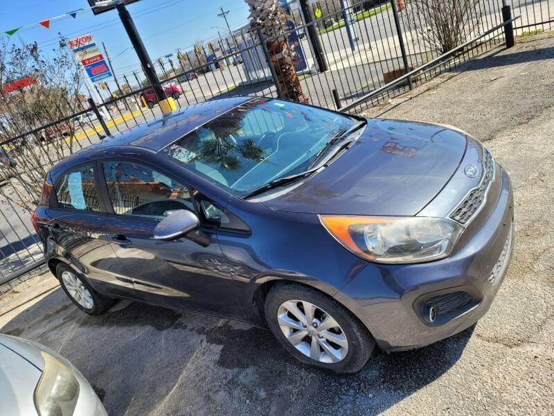 2012 Kia Rio 5-Door for sale at JR Auto Inc in San Antonio TX