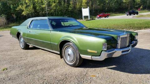 1972 Lincoln Continental for sale at Classic Car Deals in Cadillac MI