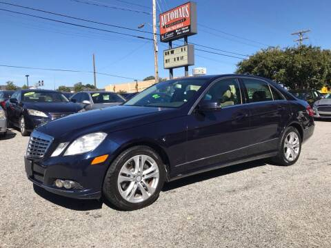 2010 Mercedes-Benz E-Class for sale at Autohaus of Greensboro in Greensboro NC