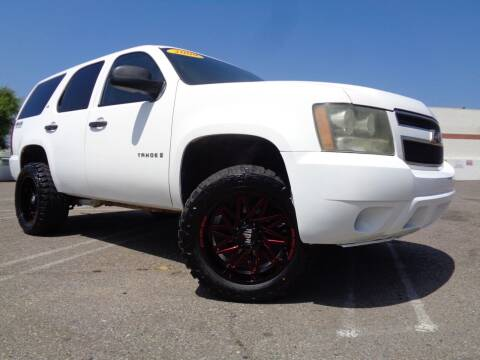 2009 Chevrolet Tahoe for sale at ALL STAR TRUCKS INC in Los Angeles CA