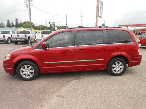 2010 Chrysler Town and Country for sale at Salmon Automotive Inc. in Tracy MN
