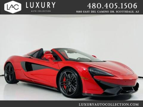 2020 McLaren 570S Spider for sale at Luxury Auto Collection in Scottsdale AZ