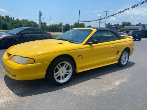 1998 Ford Mustang for sale at US 1 Auto Sales in Graniteville SC