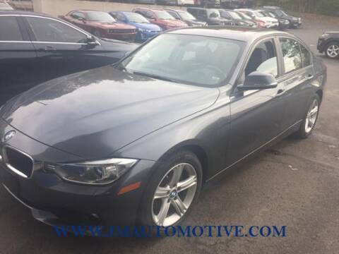 2013 BMW 3 Series for sale at J & M Automotive in Naugatuck CT