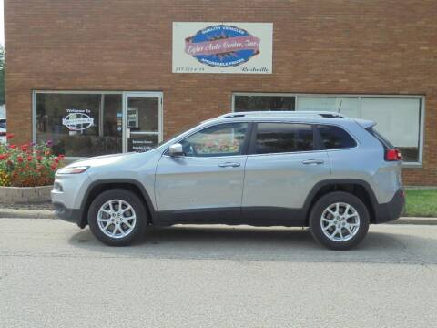 2017 Jeep Cherokee for sale at Eyler Auto Center Inc. in Rushville IL