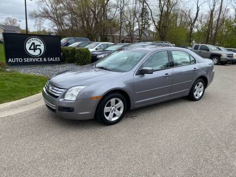 2007 Ford Fusion for sale at Station 45 Auto Sales Inc in Allendale MI