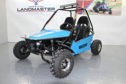 2021 Massimo GKM 200 Go Kart