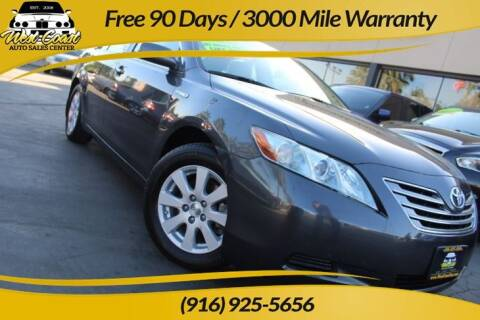 2008 Toyota Camry Hybrid for sale at West Coast Auto Sales Center in Sacramento CA