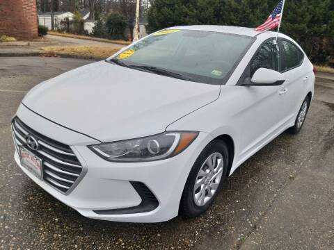 2018 Hyundai Elantra for sale at Hilton Motors Inc. in Newport News VA