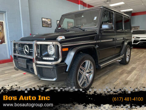 2017 Mercedes-Benz G-Class for sale at Bos Auto Inc in Quincy MA