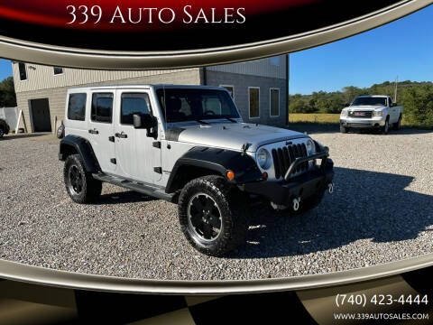2012 Jeep Wrangler Unlimited for sale at 339 Auto Sales in Belpre OH