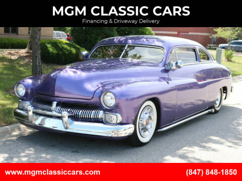 1950 Mercury Coupe for sale at MGM CLASSIC CARS-New Arrivals in Addison IL
