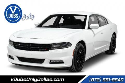 2017 Dodge Charger for sale at VDUBS ONLY in Dallas TX