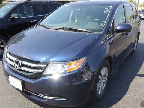 2016 Honda Odyssey for sale at Village Auto Outlet in Milan IL