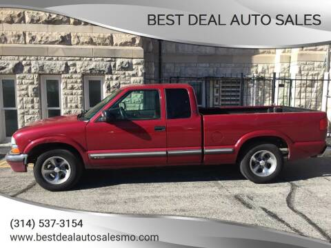2003 Chevrolet S-10 for sale at Best Deal Auto Sales in Saint Charles MO