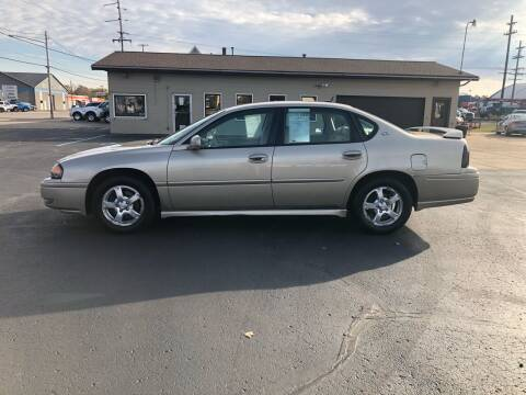 2005 Chevrolet Impala for sale at Mike's Budget Auto Sales in Cadillac MI