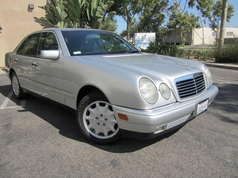 1998 Mercedes-Benz E-Class for sale at ORANGE COUNTY AUTO WHOLESALE in Irvine CA