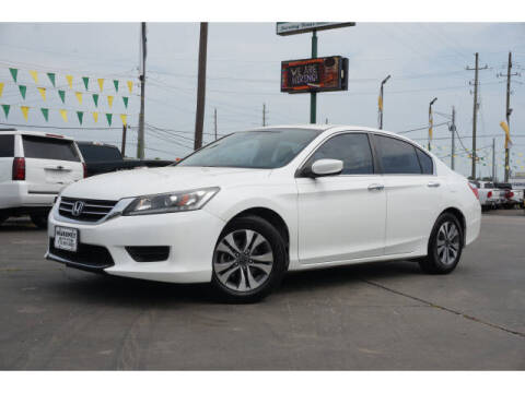 2014 Honda Accord for sale at Maroney Auto Sales in Humble TX