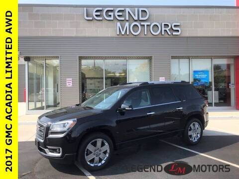 2017 GMC Acadia Limited for sale at Legend Motors of Waterford in Waterford MI
