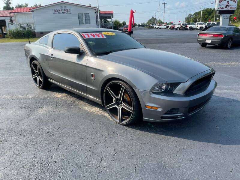 2014 Ford Mustang for sale at Rock 'n Roll Auto Sales in West Columbia SC