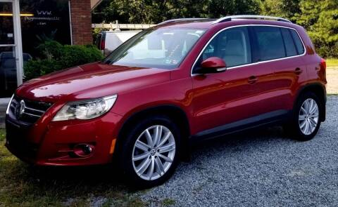 2011 Volkswagen Tiguan for sale at Progress Auto Sales in Durham NC