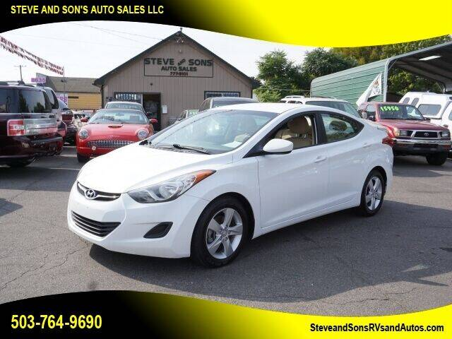 2013 Hyundai Elantra for sale at Steve & Sons Auto Sales in Happy Valley OR