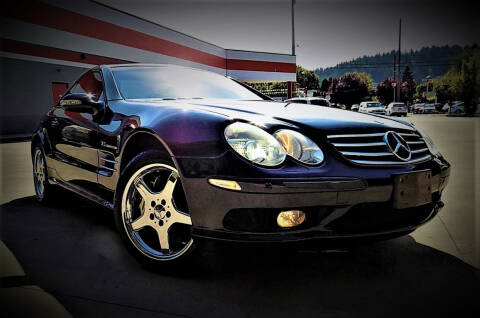 2003 Mercedes-Benz SL-Class for sale at A1 Group Inc in Portland OR