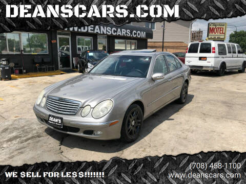 2005 Mercedes-Benz E-Class for sale at DEANSCARS.COM in Bridgeview IL