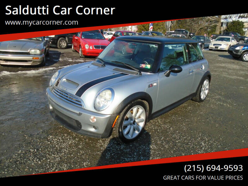 2004 MINI Cooper for sale at Saldutti Car Corner in Gilbertsville PA