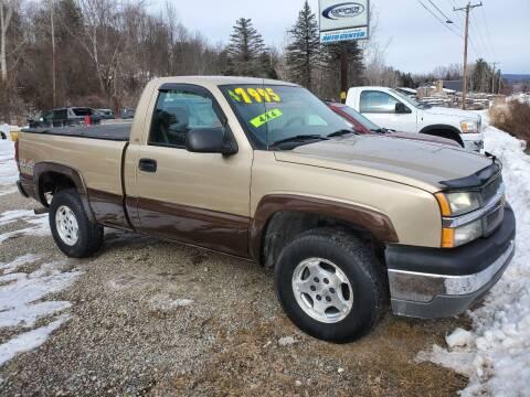 2004 Chevrolet Silverado 1500 for sale at Alfred Auto Center in Almond NY