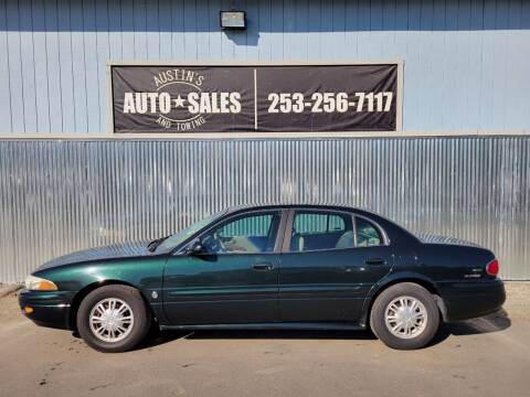 2002 Buick LeSabre for sale at Austin's Auto Sales in Edgewood WA